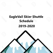 2019-2020 EagleVail Skier Shuttle Schedule