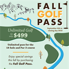 Fall Golf Pass